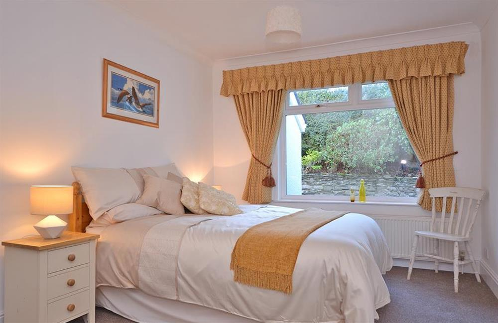 The spacious double bedroom at Fairwinds, Strete