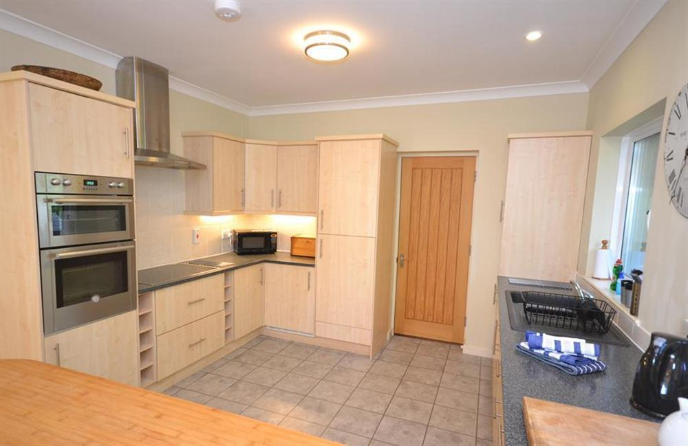 Another view of the kitchen at Fairyfield, Stoke Fleming