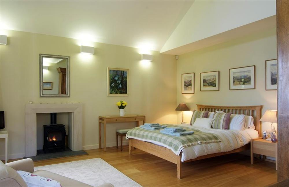 Another view of the master bedroom at Fairyfield, Stoke Fleming