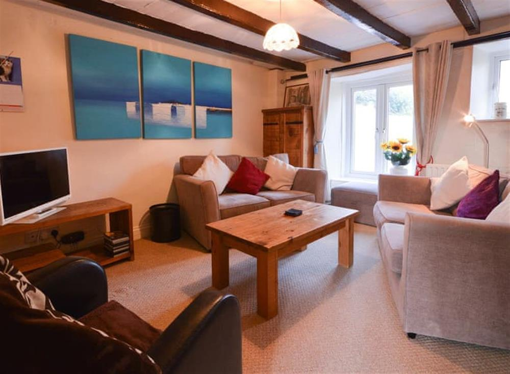 Living area (photo 2) at Farthing Cottage in Brixham, South Devon