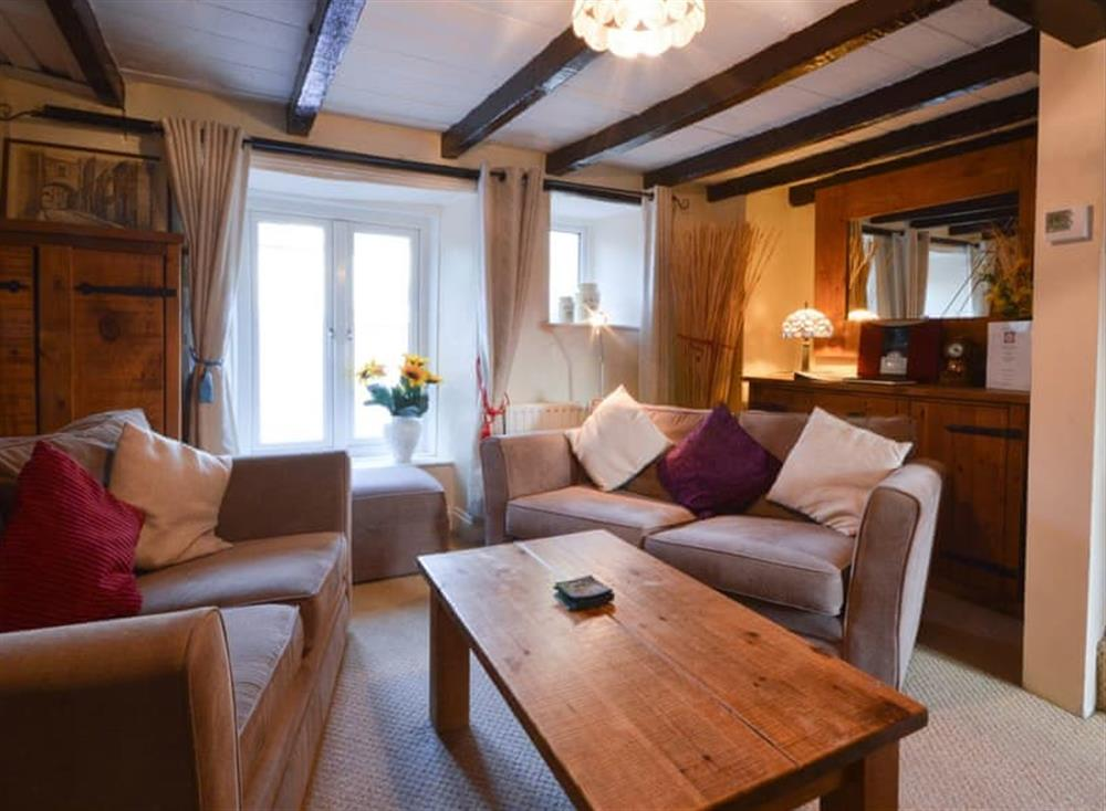 Living area (photo 3) at Farthing Cottage in Brixham, South Devon