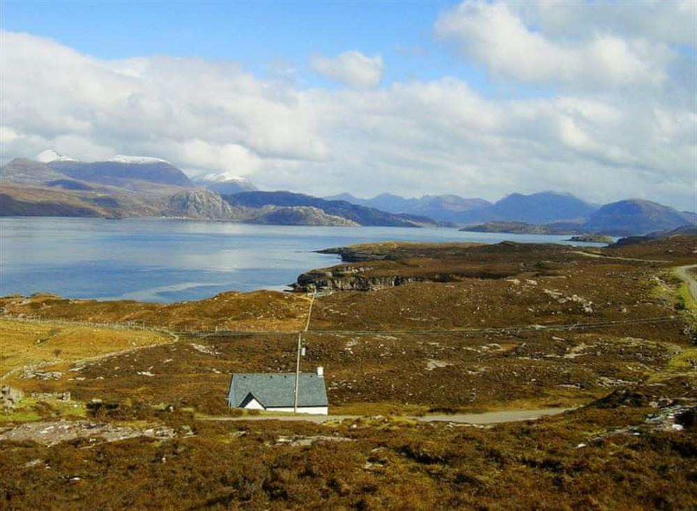 Magnificent scenery at Fearnmore Church in Fearnmore, near Applecross, Ross-Shire
