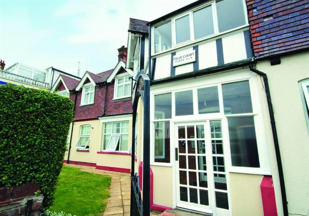 Exterior at Felix Court in Felixstowe, Suffolk