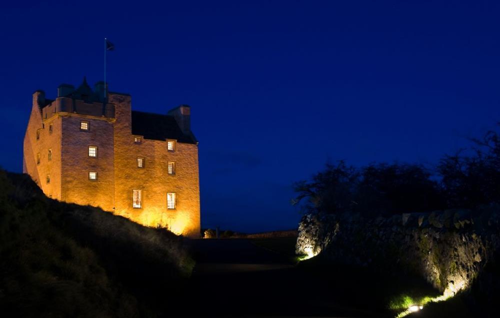 Fenton Tower at night at Fenton Tower, Kingston