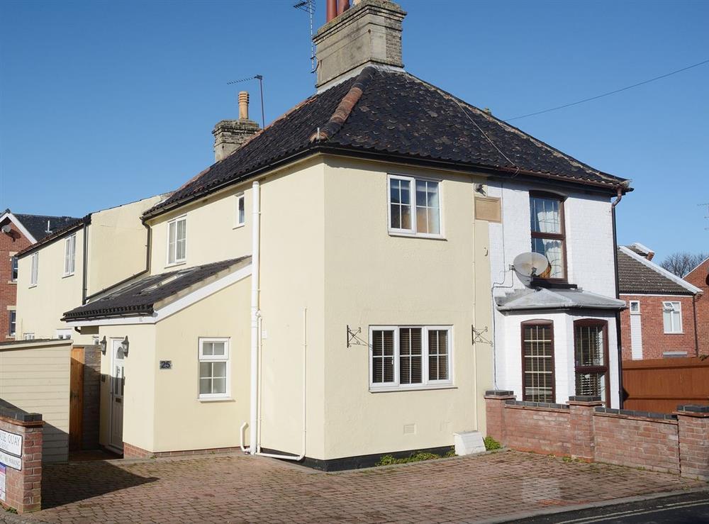 Exterior at Fern Villa in Oulton Broad, near Lowestoft, Suffolk