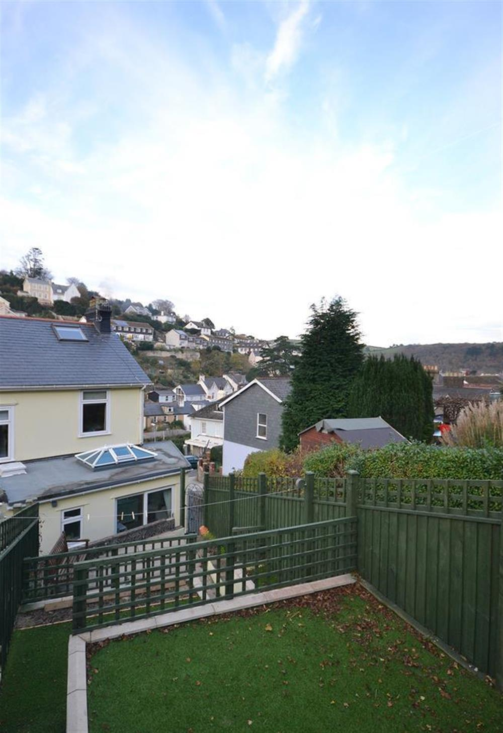A view from the garden at Ferndale, Dartmouth