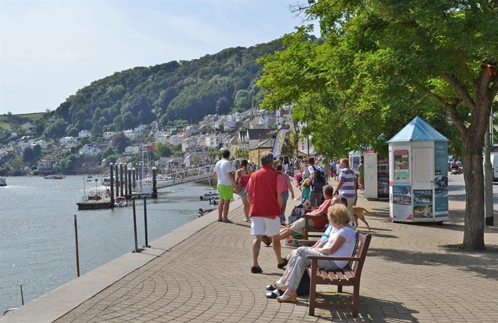 Enjoy a stroll along the Embankment at Ferndale, Dartmouth