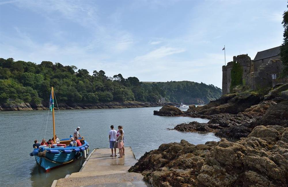 Take the ferry to Dartmouth Castle, at Ferndale, Dartmouth