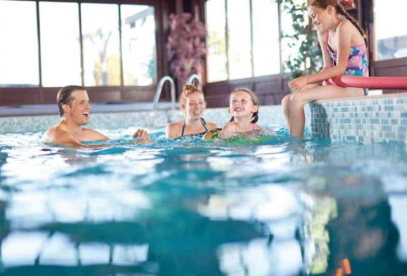 Indoor heated swimming pool at Ferry Marina in , Horning