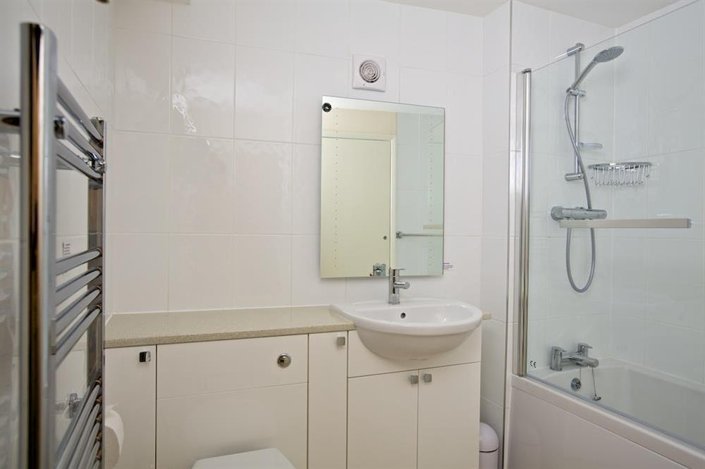 En suite bathroom at Ferry View (Dartmouth) in South Town, Dartmouth