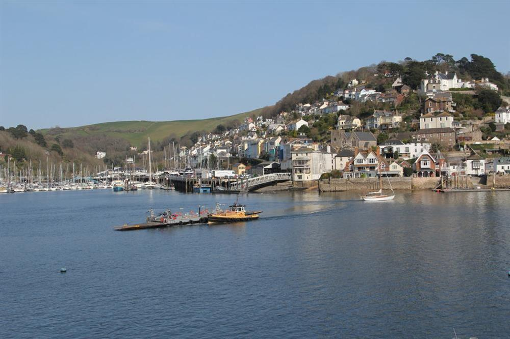 Excellent views over the river towards Kingswear at Ferry View (Dartmouth) in South Town, Dartmouth