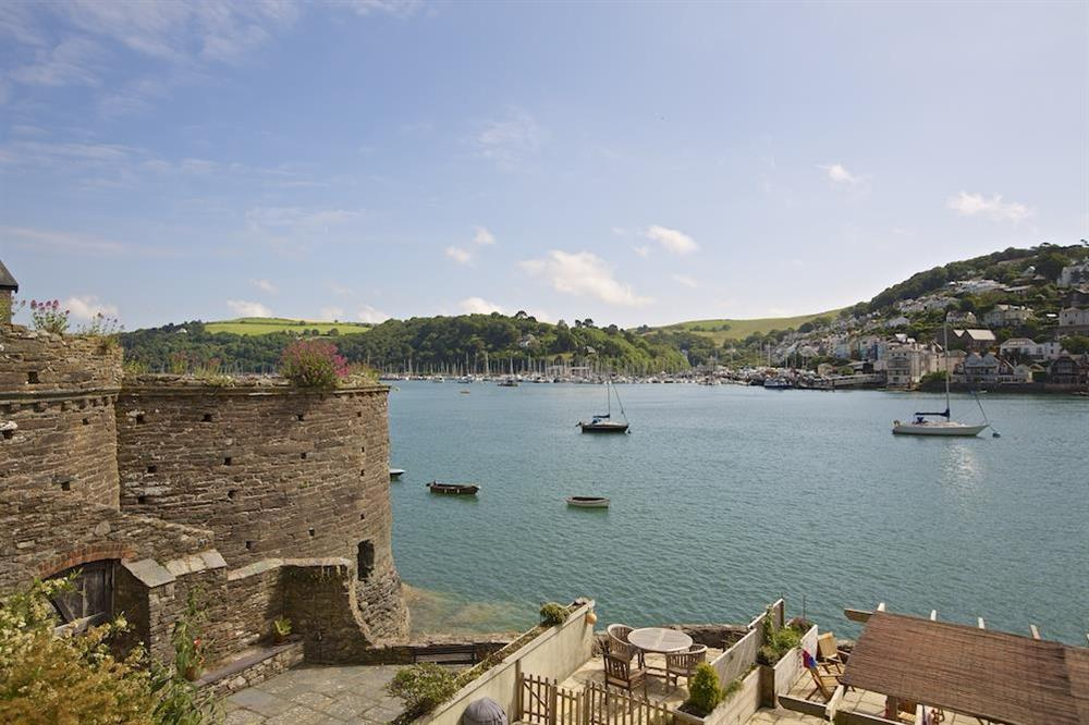 Views over the River Dart at Ferry View (Dartmouth) in South Town, Dartmouth