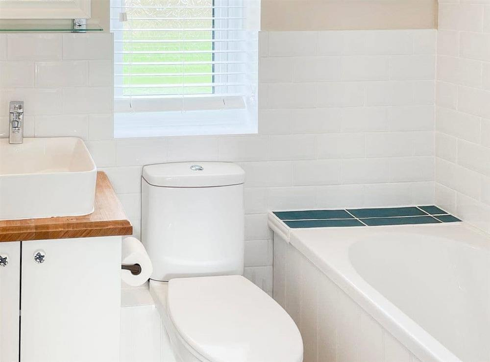 Bathroom at Field Crest in Sea Palling, near North Walsham, Norfolk