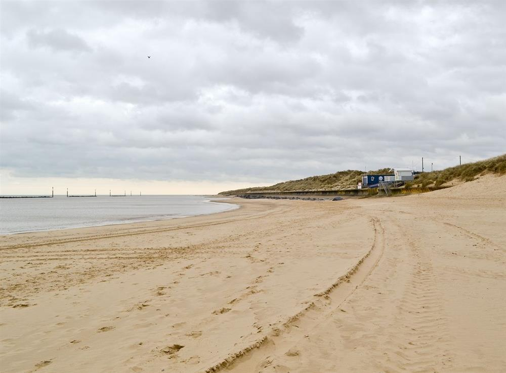 Beach at Field Crest in Sea Palling, near North Walsham, Norfolk