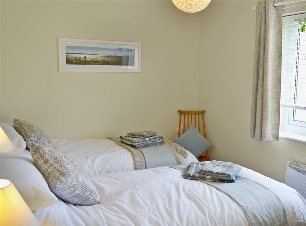 Twin bedroom at Field Crest in Sea Palling, near North Walsham, Norfolk