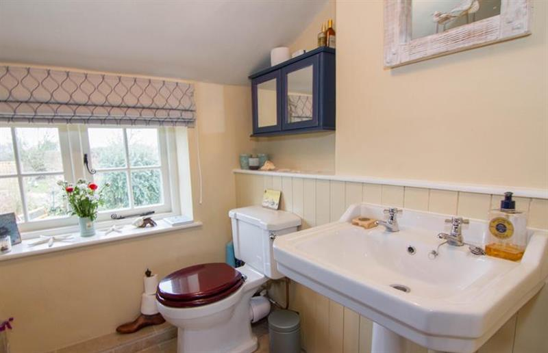 Bathroom at Field House Cottage, Hindringham near Great Yarmouth, Norfolk