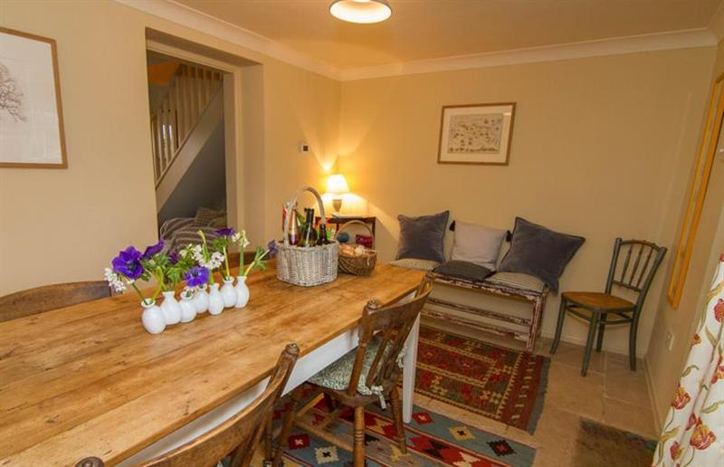 Dining room at Field House Cottage, Hindringham near Great Yarmouth, Norfolk