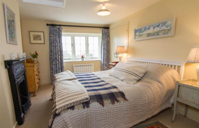 Double bedroom at Field House Cottage, Hindringham near Great Yarmouth, Norfolk