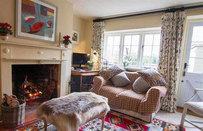 Living room at Field House Cottage, Hindringham near Great Yarmouth, Norfolk