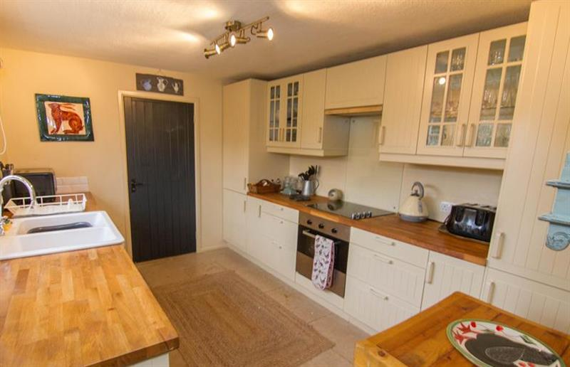 The kitchen at Field House Cottage, Hindringham near Great Yarmouth, Norfolk