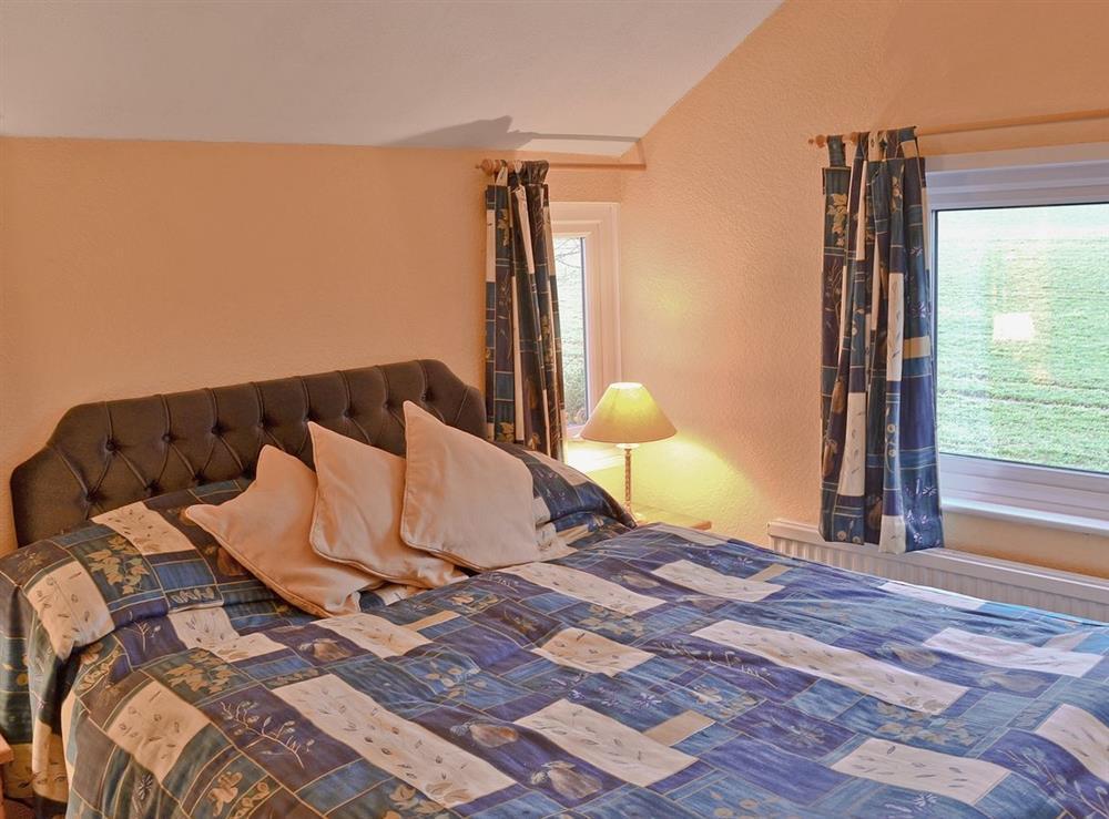 Double bedroom at Field View in Nettlestead, near Ipswich, Suffolk