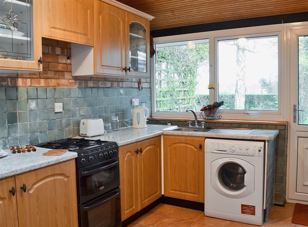 Kitchen at Field View in Nettlestead, near Ipswich, Suffolk