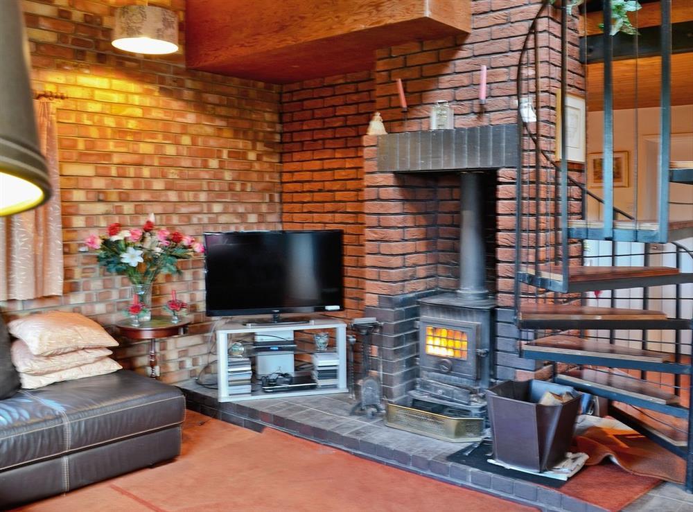 Living room at Field View in Nettlestead, near Ipswich, Suffolk