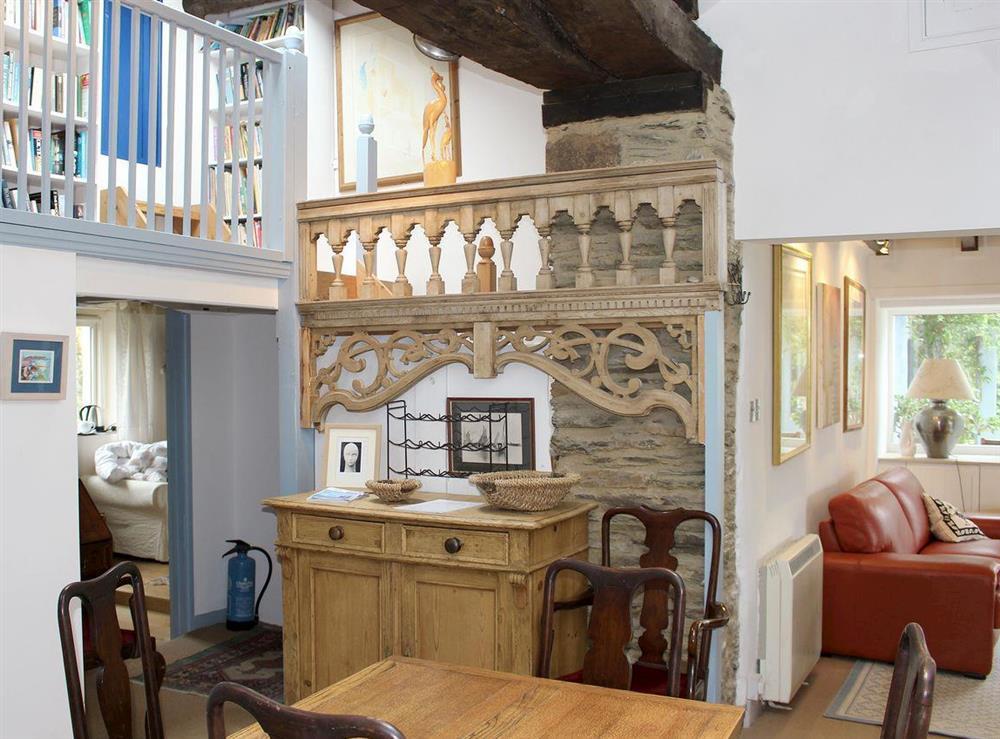 Airy dining room at Upper Mill,