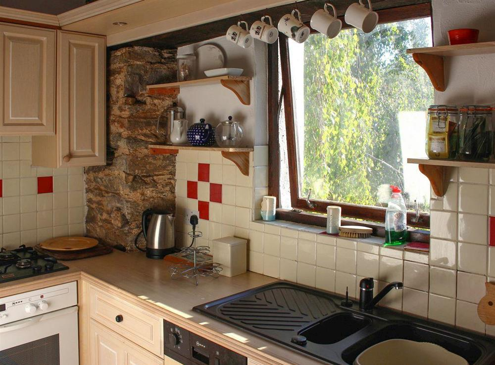 Cosy well-appointed kitchen at Upper Mill,