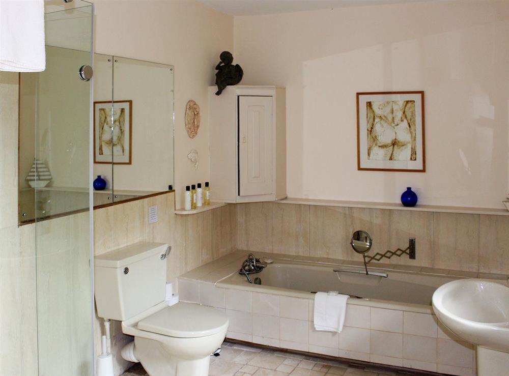 En-suite bathroom at Upper Mill,