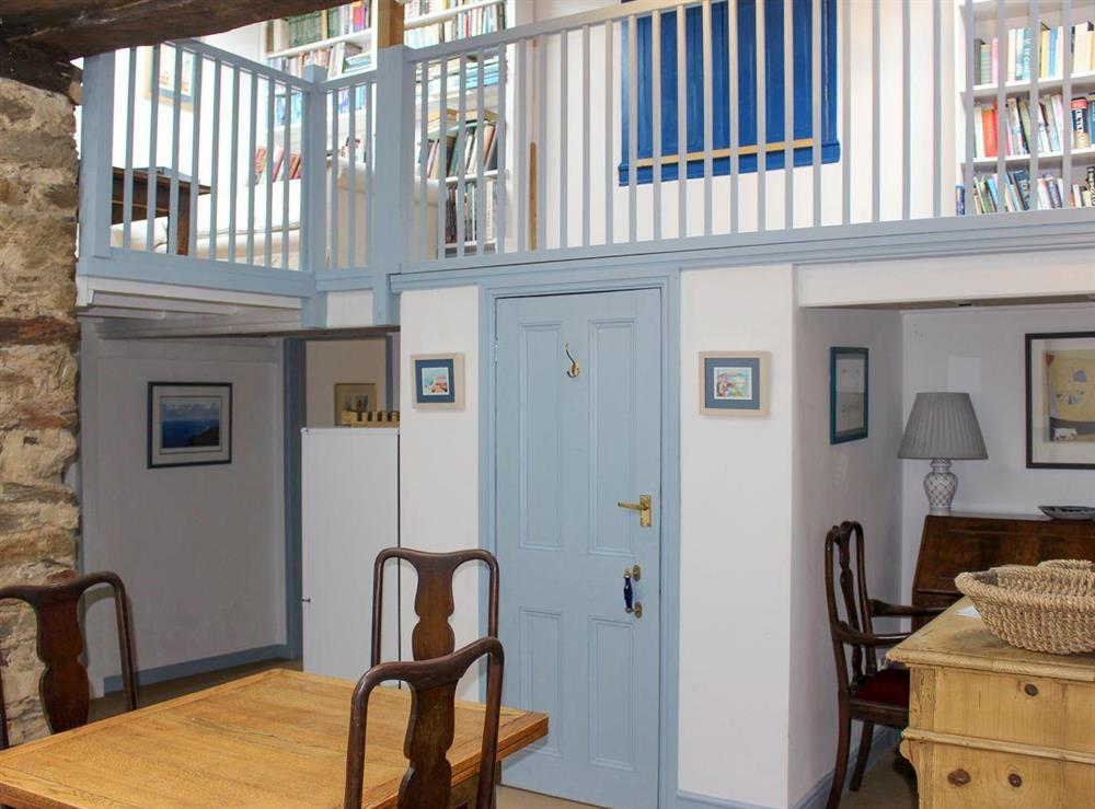 Quirky dining room at Upper Mill,