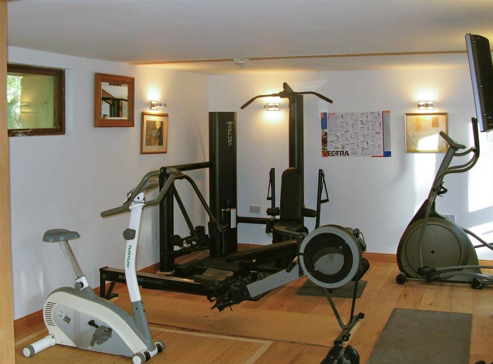 Shared on-site facilities – Gym at Upper Mill,