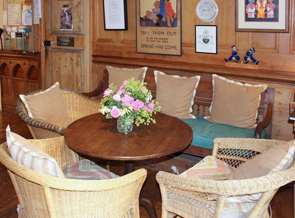 Shared on-site facilities – Seating area within Bar at Upper Mill,