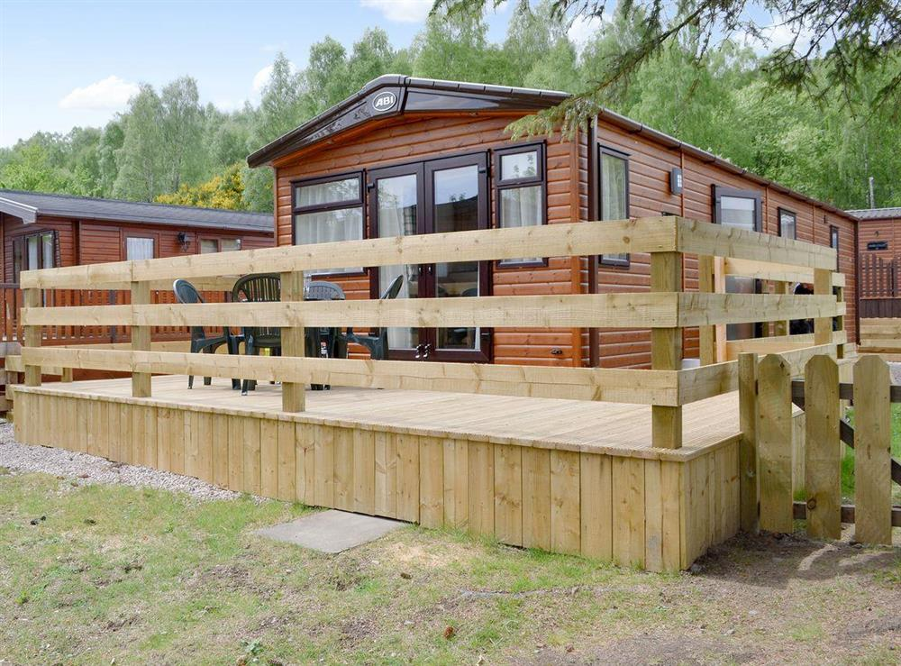 Lovely well-appointed holiday lodge at Fir Tree Lodge in Aviemore, Highlands, Inverness-Shire