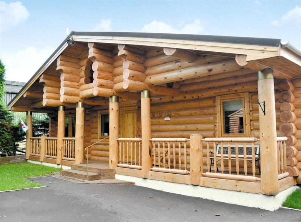 Exterior at Fir Tree Lodge in Groesffordd Marli, near Abergele, Denbighshire