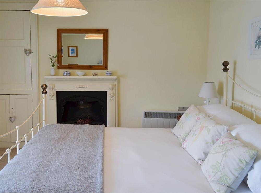 Double bedroom at Fishermans Cottage in Brixham, South Devon., Great Britain
