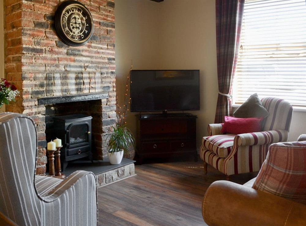 Living room at Fishermans Cottage in Flamborough, North Humberside