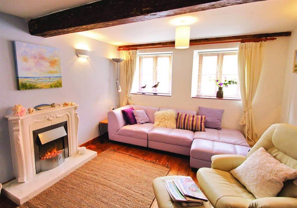 Fisherman's Cottage sitting room at Fishermans Cottage in Wells-Next-The-Sea, Norfolk