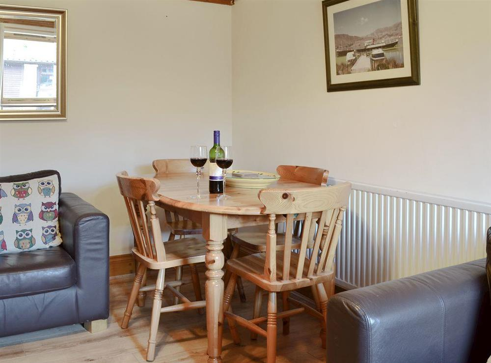 Quaint dining area at Fitling Cottage in Fitling, near Hull, North Humberside