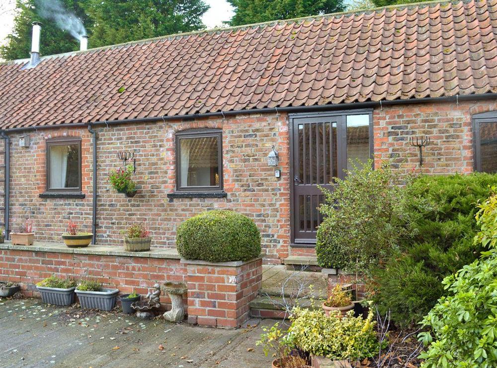 Quaint, semi-detached barn conversion at Fitling Cottage in Fitling, near Hull, North Humberside