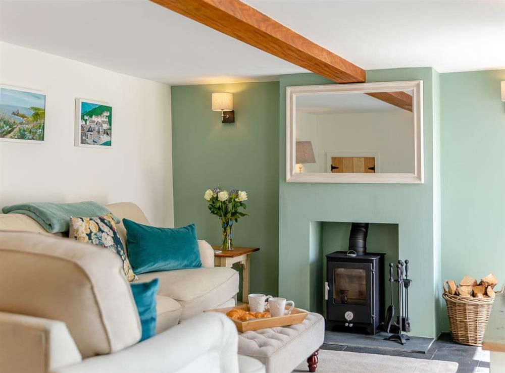 Living room at Flora Cottage in Middleton Cheney, Northamptonshire
