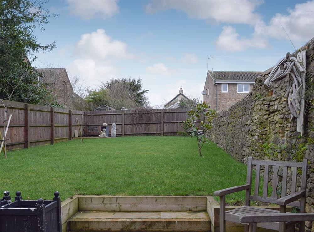 Delightful garden area at Forbes House in Brackley, Northamptonshire
