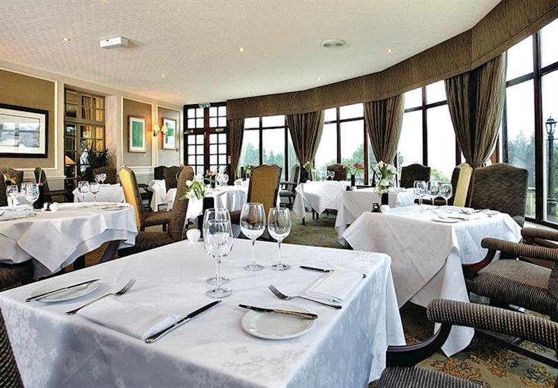 Garden Restaurant at Forest Hills Lochside Resort in Stirling, Scotland
