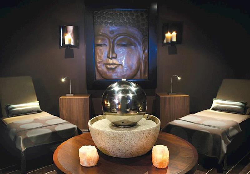 Luxurious spa at Forest Hills Lochside Resort in Stirling, Scotland