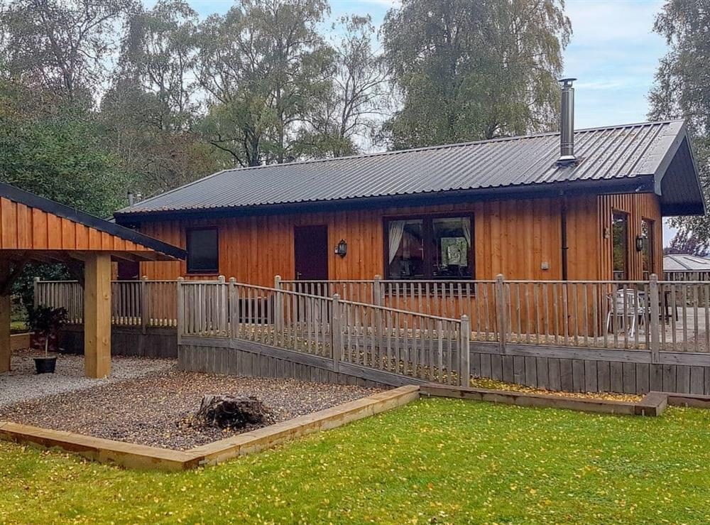 Exterior at Forest Lodge in Wester Lovat, near Beauly, Inverness-Shire