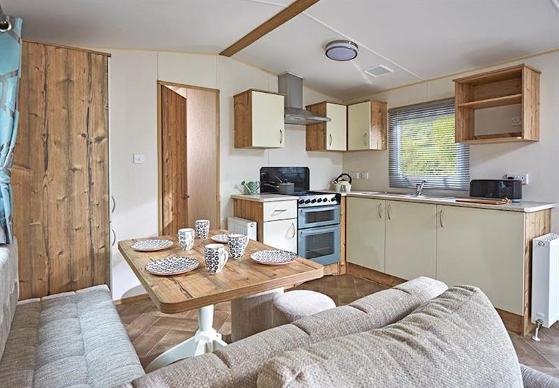 Inside a Cheviot Standard Caravan at Forget Me Not Country Park in Long Horsley, Northumberland
