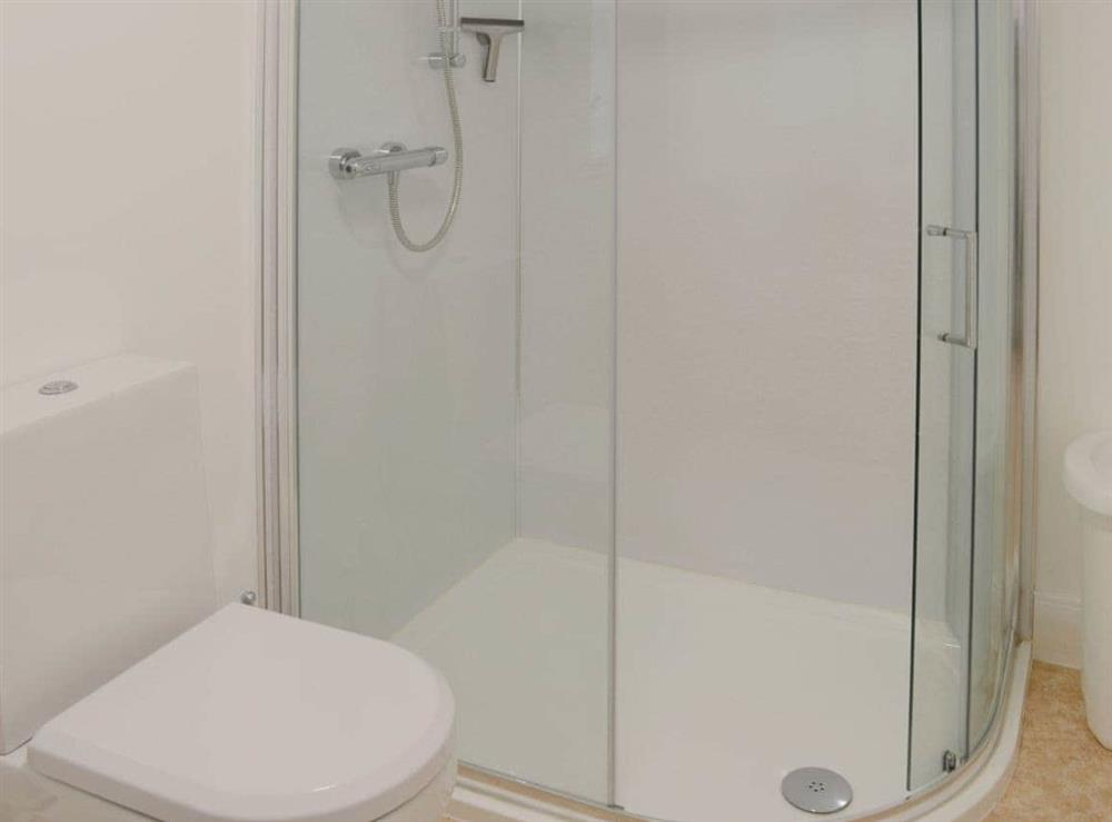 Shower room with standalone shower cubicle at Foundry Bank in Bonar Bridge, Ross-Shire