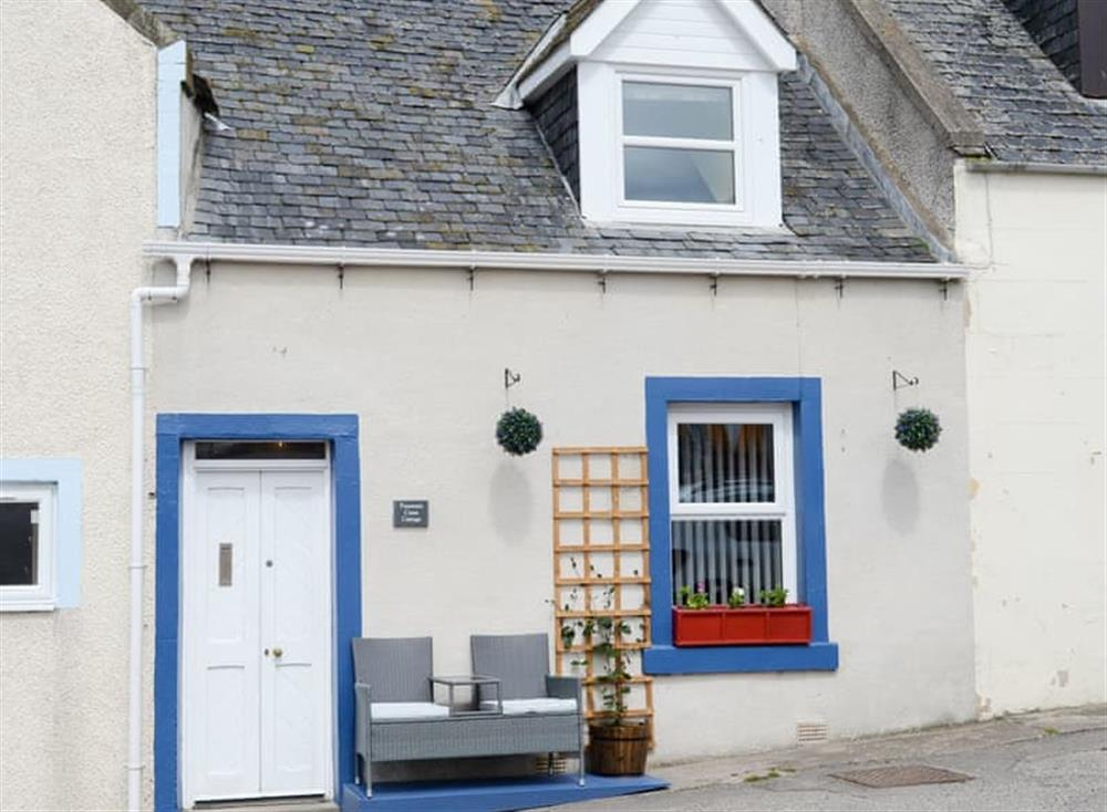 Characterful seafront holiday home at Fountain Cross Cottage in Portmahomack, near Tain, Ross-Shire
