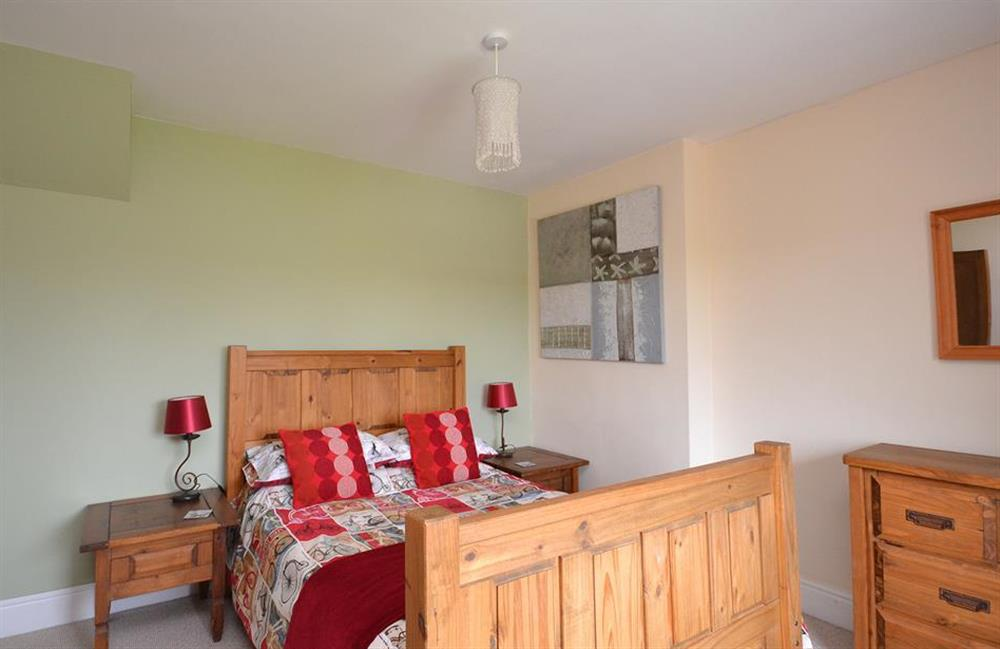 Another view of the second double bedroom at Foxenhole Farmhouse, Dittisham