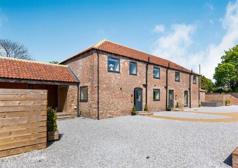 The setting of Fox's Den at Foxs Den, Lelley near Burton Pidsea
